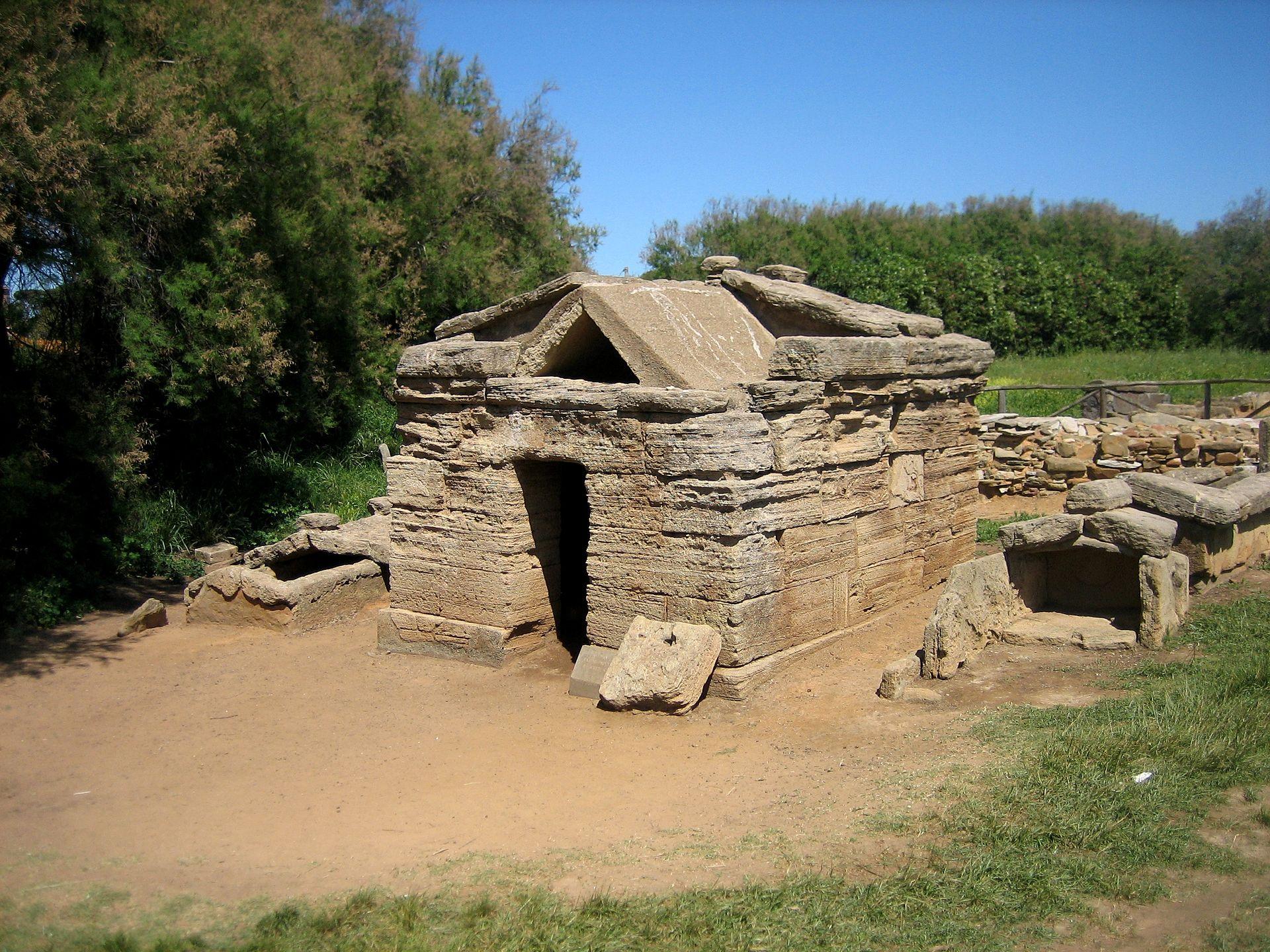 Populonia Necropoli di San Cerbone Tomba